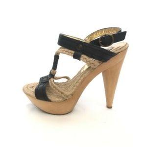 Steve Madden Sailorr Platform Heels Sandals 7